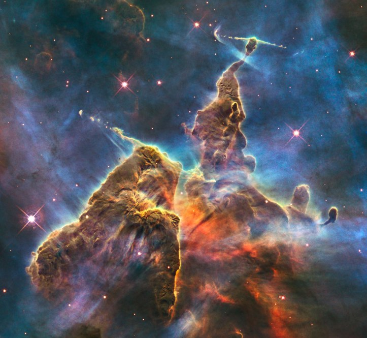 "Hubble captures view of ""Mystic Mountain"""