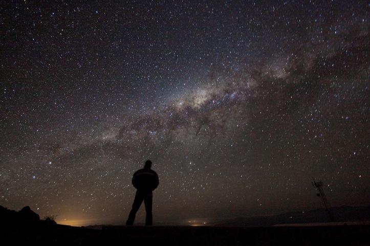 Admiring the Galazy (ESO)