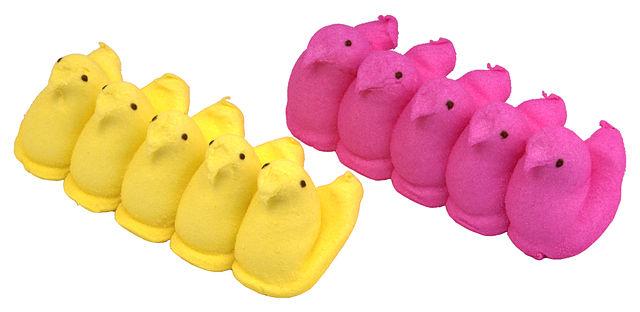 640px-Peeps-Yellow-Pink