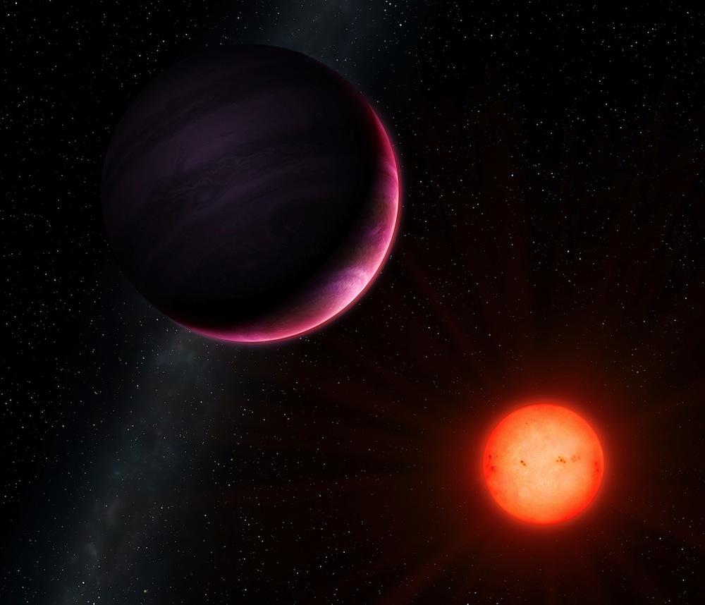 Exoplanet NGTS-1b - Version 1 - credit University of Warwick Mark Garlick